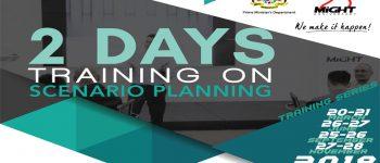2 Days Training Scenario Planning