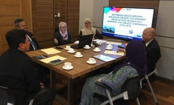 Courtesy Visit by Director of INTAN