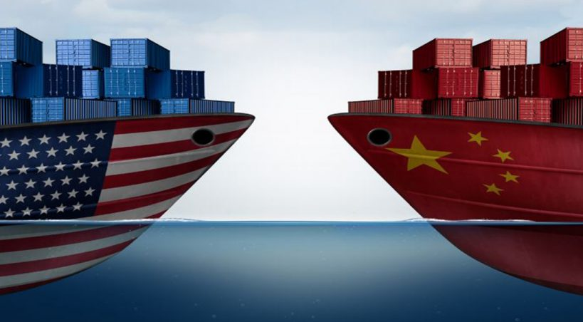 When Air Masses Collide: Bracing For A Trade War : US-China Tension Threatens To Put A Strain On World Economy