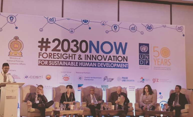 #2030NOW: Foresight and Innovations Summit for Sustainable Human Development
