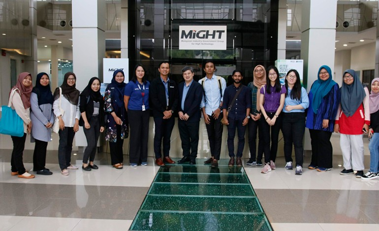 University of Malaya's Faculty of Science visit to myForesight®